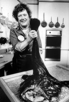 Julia Child..........rebel......was a spy during WWII. Julia McWilliams Child's. Right now we are not sure how we are related but we do know we are related.