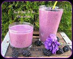 Triple Purple Berry Smoothie