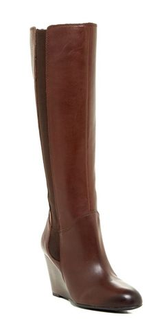 Wedge Boots by Franco Sarto #itsbootseason