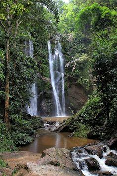 Mork Fa Waterfall - Chiang Mai, Thailand https://www.stopsleepgo.com/vacation-rentals/chiang-mai/thailand