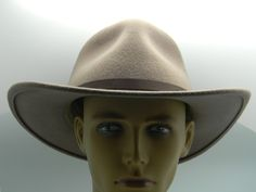 Dorfman Pacific Scala Mens Pecan 100% Wool Felt Safari Outback Hat  Size X Large…
