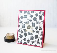 **VIDEO+GIVEAWAY** Using Small Images for Backgrounds (Stamp of Approval Feb Release) | Scraps & Stamps