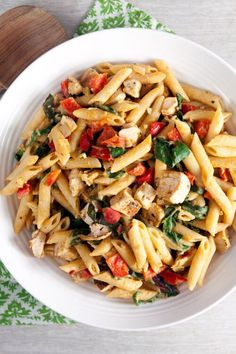Spicy Chipotle Hummus Pasta. We can't get over how good this easy ...