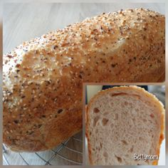 Egyszerű kovászos kenyér – Alaprecept | Betty hobbi konyhája Bread Baking, Caramel, Paleo, Goodies, Yummy Food, Sweets, Cooking, Baking, Treats