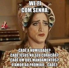 Wi-fi com senha