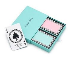 Tiffany & Co. deck of cards