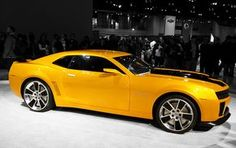 Yellow Camaro by Theohiosource, via Flickr