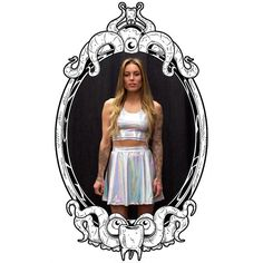 Space Babe Skater Skirt by ToothAndEye, designed and handmade in Kamloops, BC, Canada!