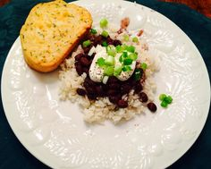 Black Bean Soup With White Rice