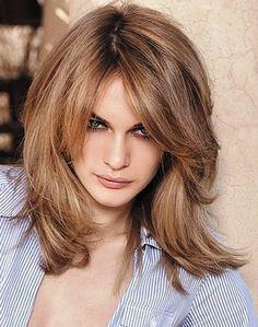 6. Medium Layered Haircut Ideas