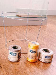 DIY Woven Basket From a Tomato Cage