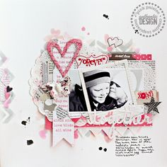 Got Sketch? {Together} | Pink Paislee using Secret Crush made by Christin Grønnslett  #pinkpaislee #DIY #valentinesday