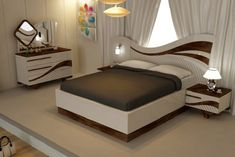 modern bedroom furniture sets and design catalogue. modern bed designs, modern bedroom furniture design, and wooden dressing table designs for bedroom. Latest Wooden Bed Designs, New Bed Designs, Latest Furniture Designs, Table Designs, Bedroom False Ceiling Design, Bedroom Bed Design, Master Bedroom, Bedroom 2018, Bedroom Decor