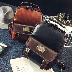 Cheap Vintage Travel PU School Backpack Retro Imitation Leather Grain Backpacks For Big Sale! Lace Backpack, Retro Backpack, Backpack For Teens, Travel Backpack, Leather Backpack, Fashion Backpack, Cute Backpacks, Girl Backpacks, School Backpacks