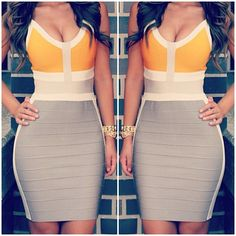 Love This Bandage Dress except my bonds are much smaller