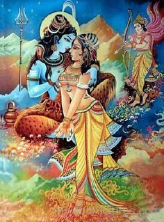 Goddess Parvati And Lord Shiva Picture