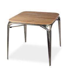 Mesa WILLOW metal 80x80 (Mesas de comedor) - LOUIX DINING TABLE S80 Sillas de diseño, mesas de diseño, muebles de diseño, Modern Classics, Contemporary Designs...