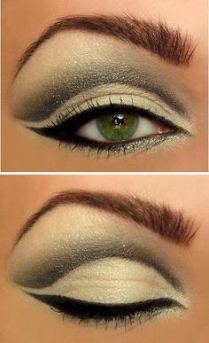 fake depth and larger eyes.