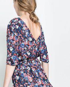 Midnight Field Dress