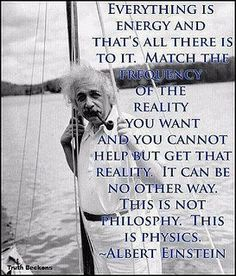Sorry to burst people's bubbles but this is NOT a quote by Albert Einstein. But he did say many amazing insightful things.