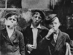 smoking children