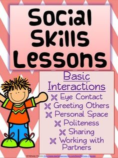 ***Flash Freebie for 1 Week***This item will be FREE for 1 Week (5/24 to 5/30) to celebrate my TpT Milestone! Enjoy and thanks for everyone's support in reaching this milestone!What You GetThe following document is 24 pages, with 10 social skill lessons.