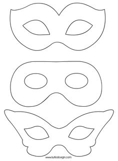 Disegni Maschere di Carnevale da colorare - TuttoDisegni.com