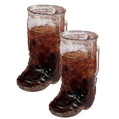 Glass Boot Mug, Cowboy Boot Glass Mug for a Sheriff Callie's Wild West Party