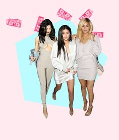 Missguided Kylie Jenner dollar gif