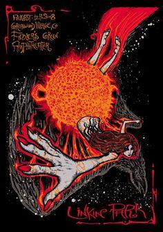 Legendary Rock Musik Gruppe Singer Poster Chester Bennington Linkin Park 30