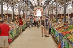 Loule Food Market, Praça de loule, Algarve, Portugal 2008 by kruijffjes, via Flickr