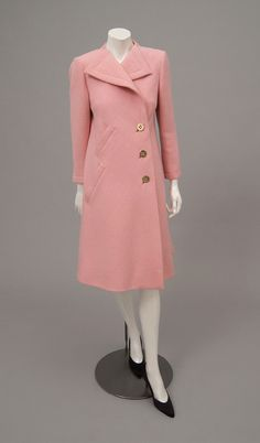 Philadelphia Museum of Art - Collections Object : Woman's Coat 1973 pink wool- Pauline Trigere