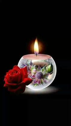 Good Night Dear, Good Night Sweet Dreams, Rose Wallpaper, Screen Wallpaper, Romantic Candles, Good Morning Flowers, Birthday Candles, Night Quotes, Good Night
