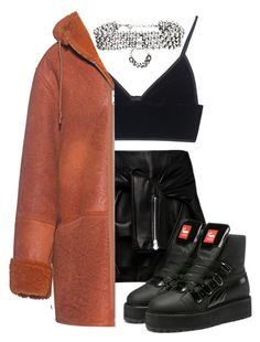 """""""Untitled #69"""" by be-marta ❤ liked on Polyvore featuring Magda Butrym, T By Alexander Wang, adidas Originals and DANNIJO"""