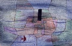 Paul Klee, Old Monument of a Ship, 1931 on ArtStack #paul-klee #art