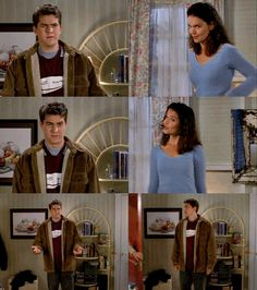 "I laughed so hard when Pacey pushed Bessie back out! ""Okay, thank you!"""