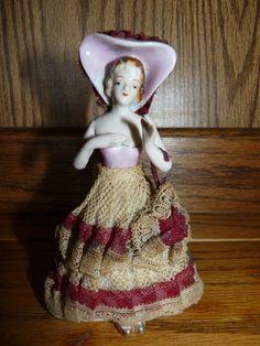 Vintage Porcelain Victorian Figurine - SOLD
