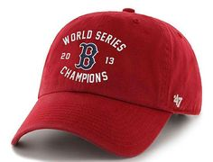 Boston Red Sox 2013 World Series Champions Fitted Baseball Cap by '47 BRAND x MLB