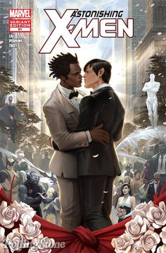 (For my friends who are queer...) X-men's Northstar is getting married. YAY for gay marriage! (I am straight, but I do have friends who are gay)