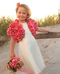 flower girl ~ my goodness a floral wrap!