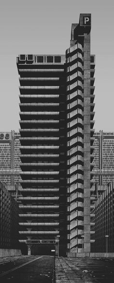 the artist imagines how a futuristic \'super-brutalist\' metropolis would age, and what atmosphere an endless manmade landscape would generate.