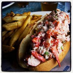Lobster Roll from Legal Seafood