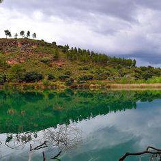 Reflejos de verano  Laguna Batana Parque Natural de las Lagunas de Ruidera #nature #photography