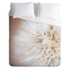 Bird Wanna Whistle Close Up Duvet Cover | Deny Designs Home Accessories
