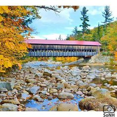 New Hampshire  ✨ Photographer  @ang_sweet23  #ScenesofNewEngland  Pic of the Day  11.01.15 ✨ C o n g r a t u l a t i o n s ✨ #scenesofNH  #albanynh #kancamagus #whitemountains #swiftriver  #igersnh #ignh #newhampshire  #newhampshire_potd  #albanycoveredbridge #newengland_coveredbridge ...