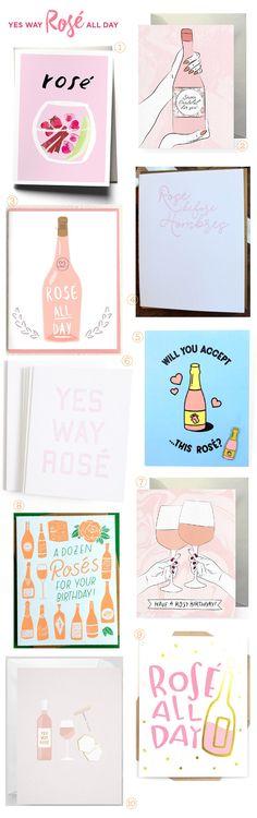 Stationery A-Z: Rosè All Day