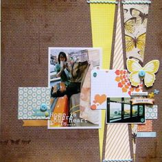 「triangle scrapbooking idea」の画像検索結果