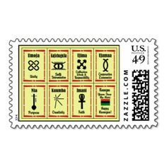 7 Principles Kwanzaa Postage Stamps. It is really great to make each letter a special delivery! Add a unique touch to invites or cards with your own photos or text. Just click the image to learn more!