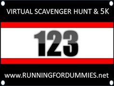 Running For Dummies Virtual Scavenger Hunt and 5K! Enter Today to win fabulous fitness prizes!