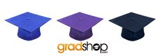 Need Graduation Cap? Visit our website in www.gradshop.com to choose the perfect cap for you!
